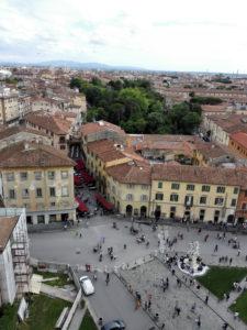 Pisa - Piazza dei miracoli -vista dalla Torre