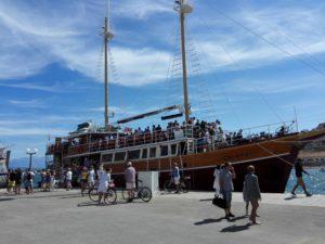 Gita in barca Calypso
