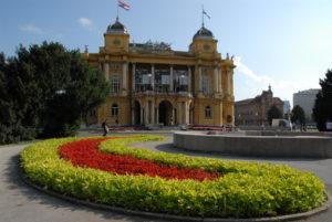 Zagabria-Teatro dell\'Opera
