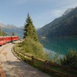 Sul trenino del Bernina