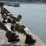 memoriale dell'eccidio ebraico sul Danubio