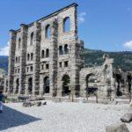 Aosta - il teatro Romano